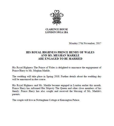 Il principe Harry e Markle mano nella mano per la prima volta a un evento ufficiale