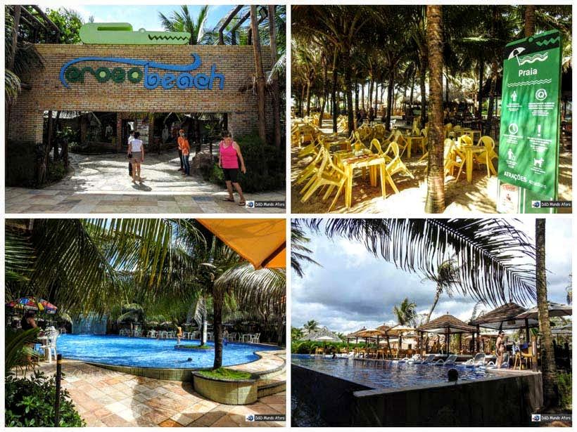 Crocobeach - Praia do Futuro - O que fazer em Fortaleza (Ceará)