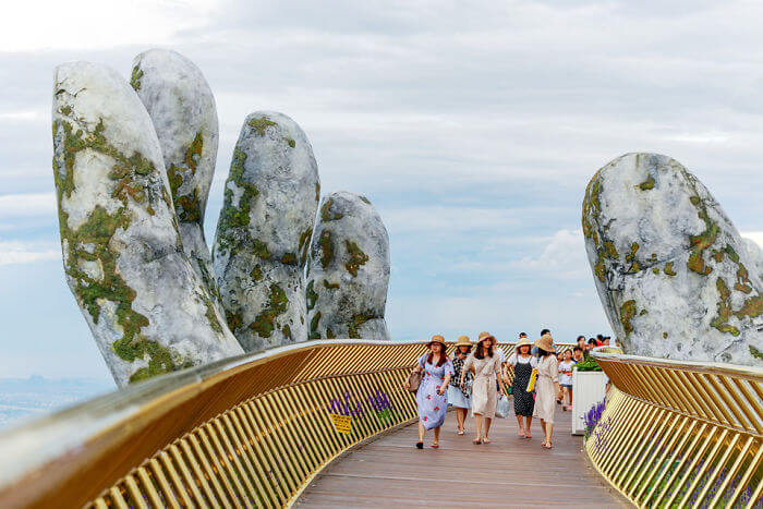 Mindblowing Bridge In Vietnam Has Now Been Opened, And It Is Reminiscent of Scenery From Lord Of The Rings