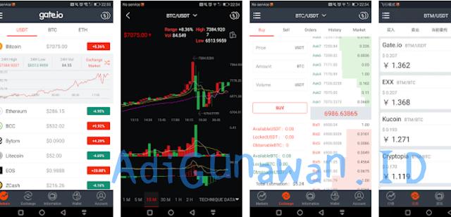 Aplikasi Trading di Exchange Gate Terbaru untuk Android, iOS dan Desktop PC Full Version