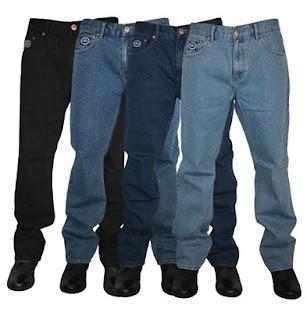 Kulkas menjadikan celana jeans seperti baru