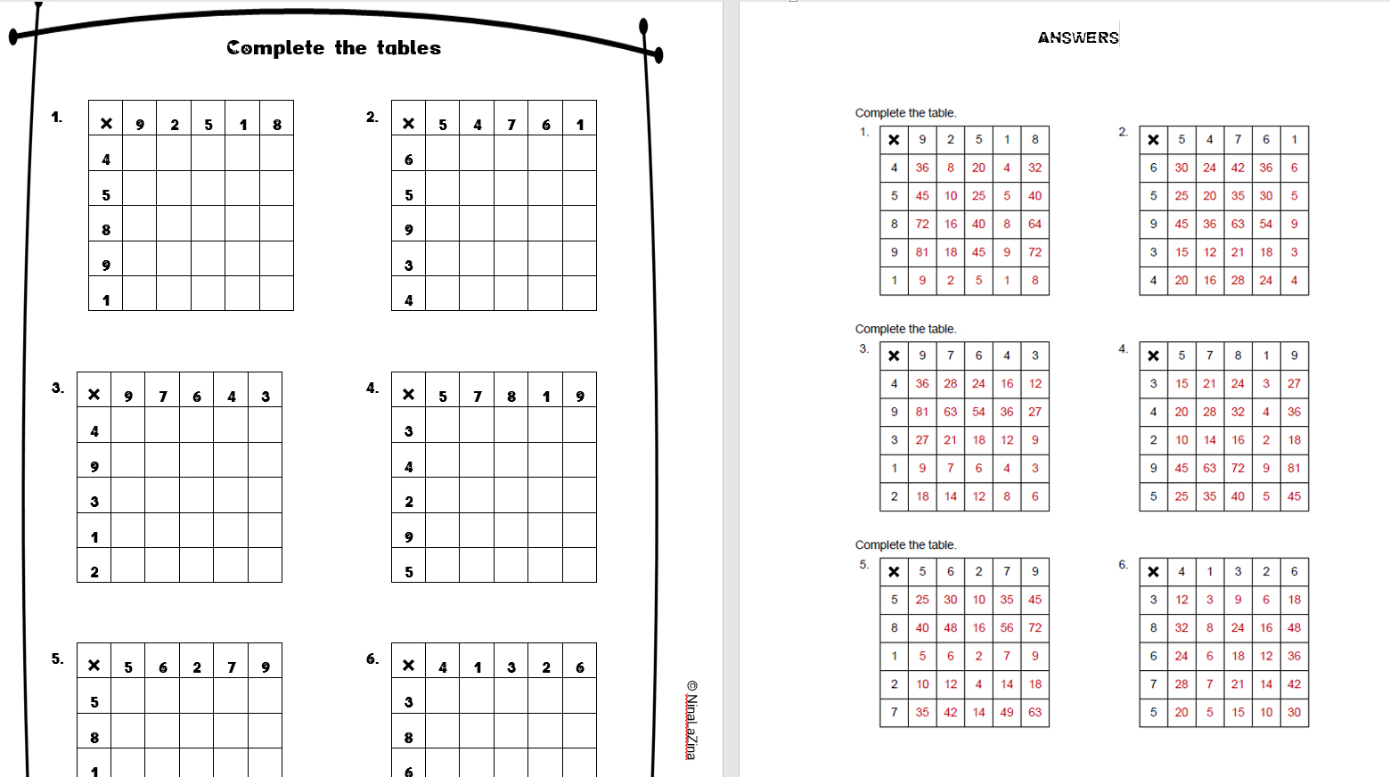 Multiplication chart practice images free any chart examples multiplication chart practice gallery free any chart examples multiplication chart practice choice image free any chart nvjuhfo Choice Image