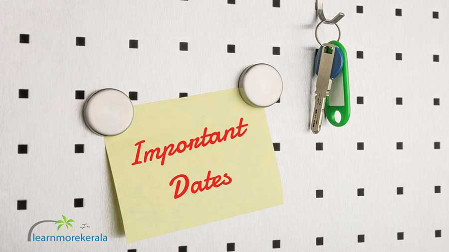 plus one allotment 2019 important dates