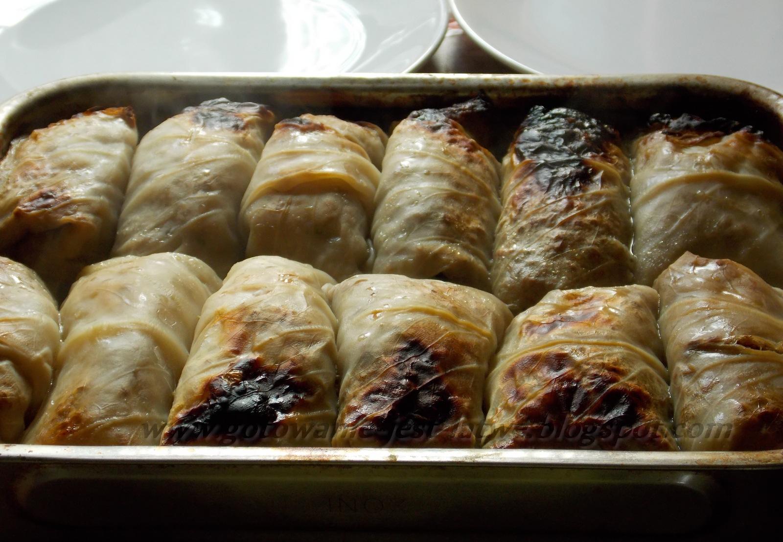 Gotowanie Jest łatwe Kresowe Gołąbki Z Ziemniakami I Kaszą
