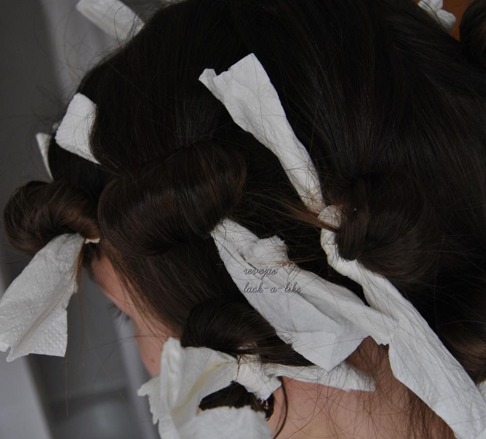 Lack A Like Locken Ohne Hitze Für Lange Haare