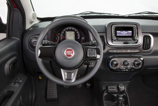 Fiat Mobi Like On  - interior