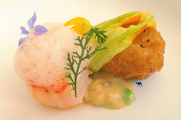 Le Chameau Bleu - Restaurant Gastronomique japonais Paris - Cromesquis de Ris de Veau