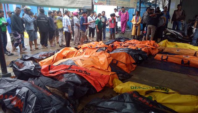 Korban Tewas Tsunami Selat Sunda Jadi 222 Orang, 843 Orang Luka