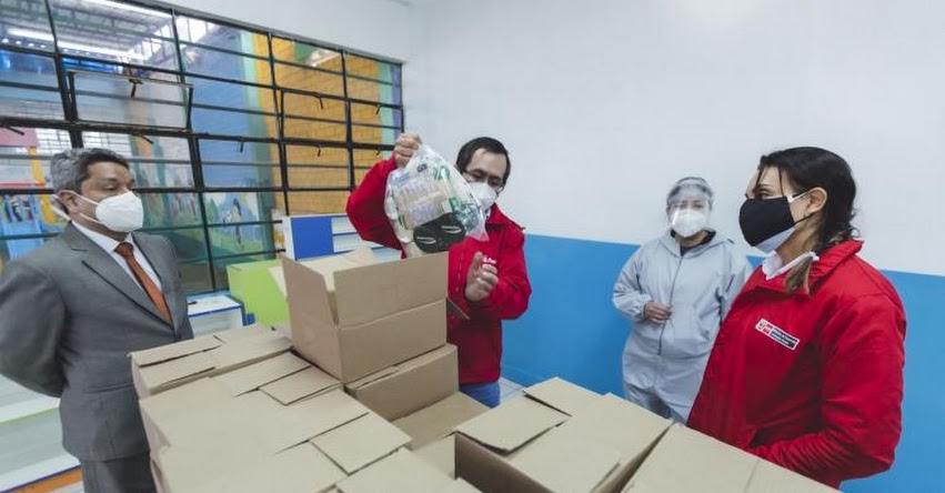 QALI WARMA: Programa social distribuye más de 90 mil toneladas de alimentos para escolares - www.qaliwarma.gob.pe