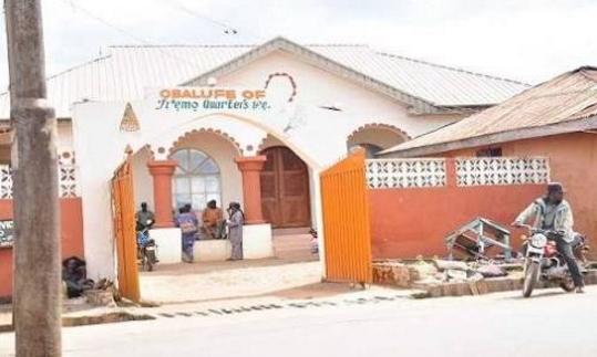 Obalufe's palace in Iremo Ile Ife