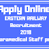 Apply Online for Eastern Railway Recruitment 2018 | Paramedical Staff Recruitment