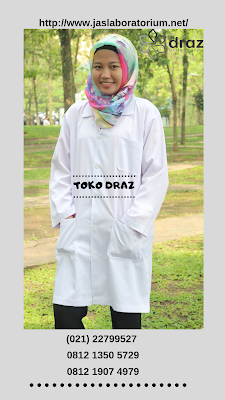 harga bikin seragam jas laboratorium farmasi tahun 2019