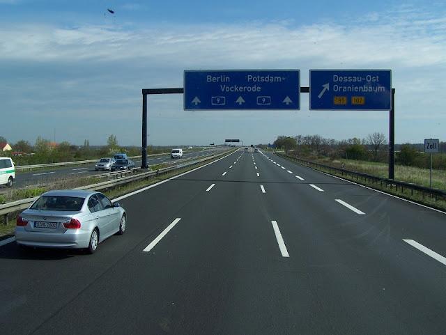 Estrada A9 na Alemanha