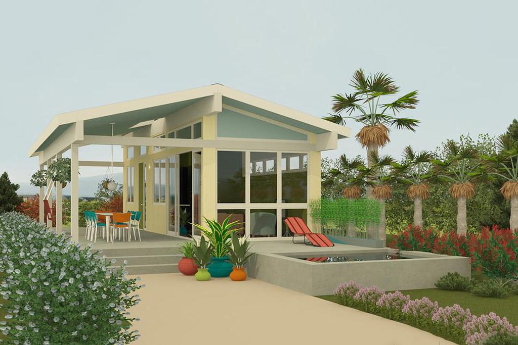 15 Desain  Eksterior Rumah  Sederhana  Desain  Rumah