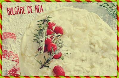 mod preparare tort bulgare de nea prajituri pentru revelion