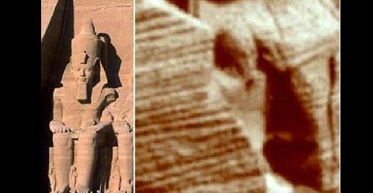 Uma estátua egípcia foi encontrada em Marte?