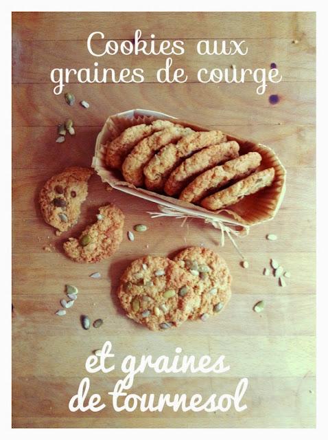 Recette cookie graine de courge