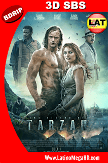La Leyenda de Tarzan (2016) Latino HD 3D SBS BDRIP 1080P - 2016