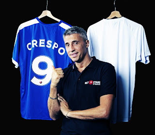 HERNAN CRESPO BACKS CHELSEA TO TRIUMPH AT WEMBLEY THIS WEEKEND