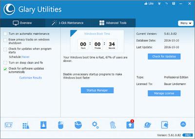 Glary Utilities Pro 5.82.0.103 Multilingual