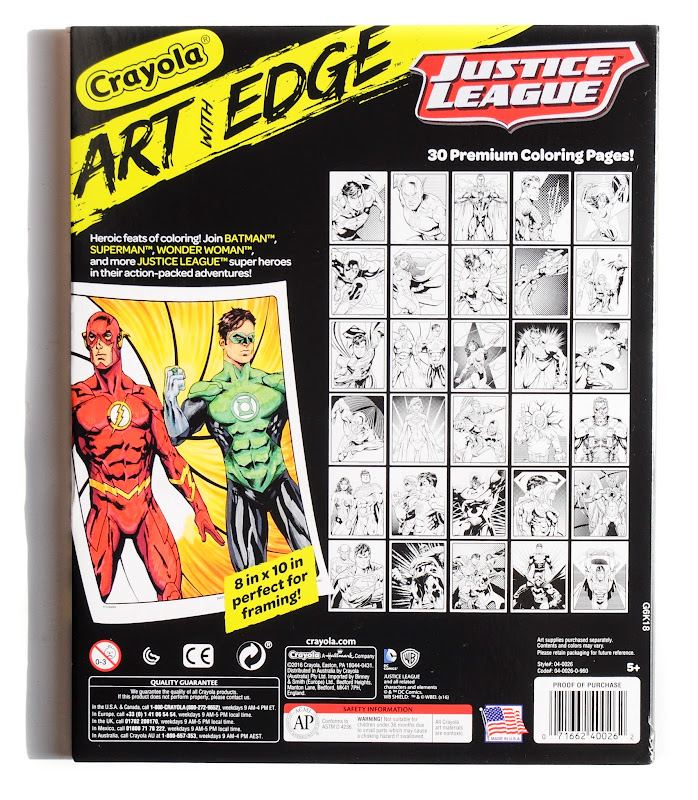2016 Crayola Art With Edge 12 Count Wedge Markers