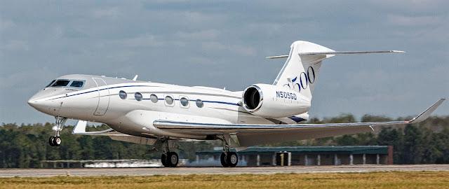 g500 gulfstream first flight