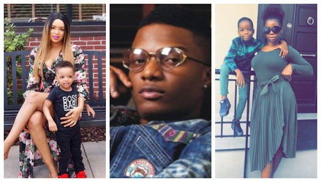 Wizkid's baby mamas blast him for failing to pay childen's