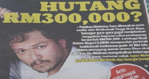Berapa INCOME Shaheizy Sam Ni Hah? (Citer Ni Panjang Tapi Banyak Pengajaran)