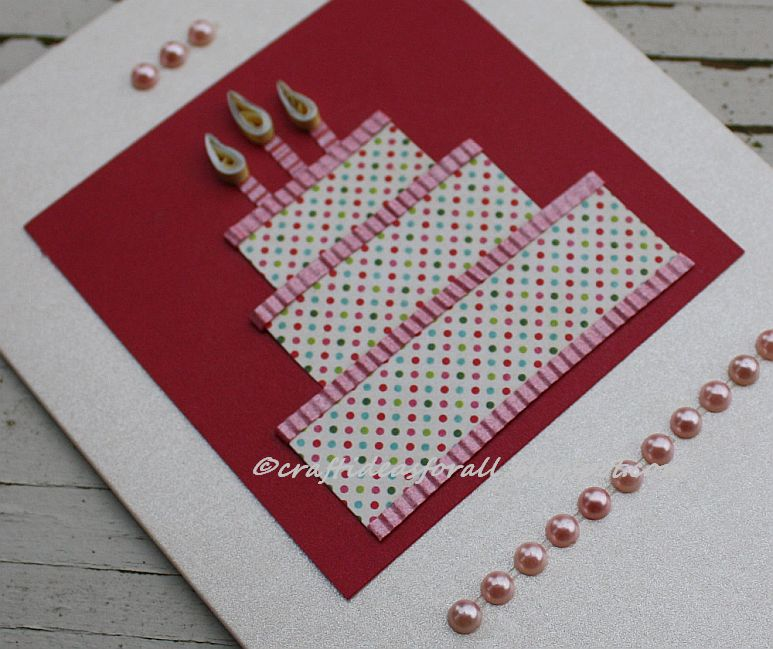 Craft Ideas For All: Handmade Greeting Card For Third Birthday