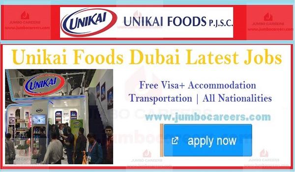 Urgent UAE jobs with salary and benefits, van salesman jobs in Dubai,