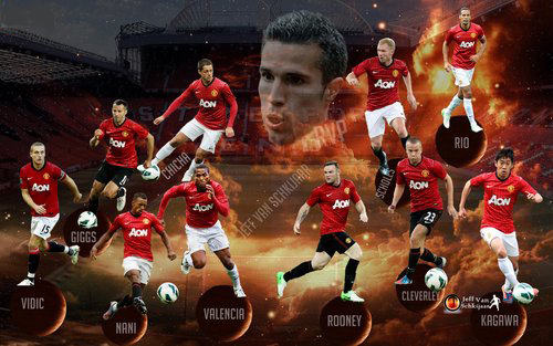 Manchester United Fresh Hd Wallpapers 2013