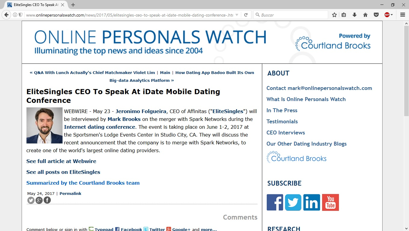 World largest online dating
