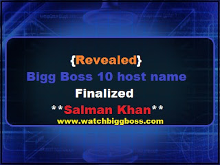 Bigg Boss 10 host name Finalized | Salman Khan