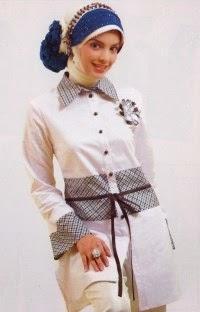 Model baju muslim wanita terbaru saat ini