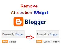 How to Remove a Widget From Blogger Template