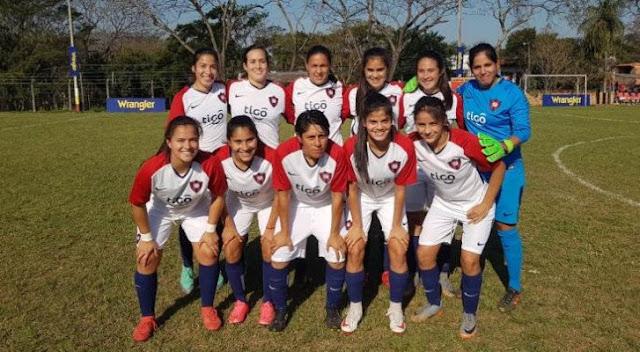 Cerro Porteño lidera el torneo femenino