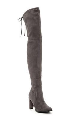 Catherine Malandrino Gray Over The Knee Boots