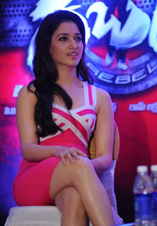 Tamanna Looking Marvellous at Rebel Trailer Launch