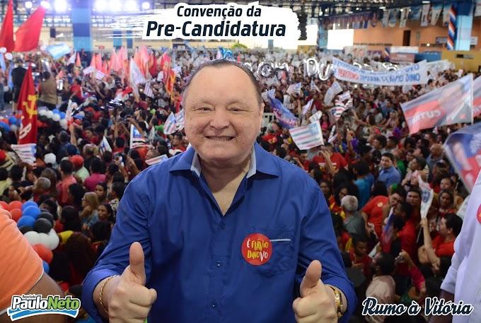Agora é Oficial: Convenção homologa candidatura do deputado Paulo Neto.
