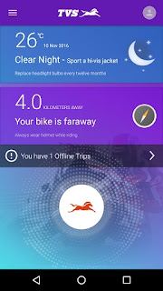 Rejoice TVS Owners- TVS Launches IRIDE App- Features Like Road Side Assistance Included