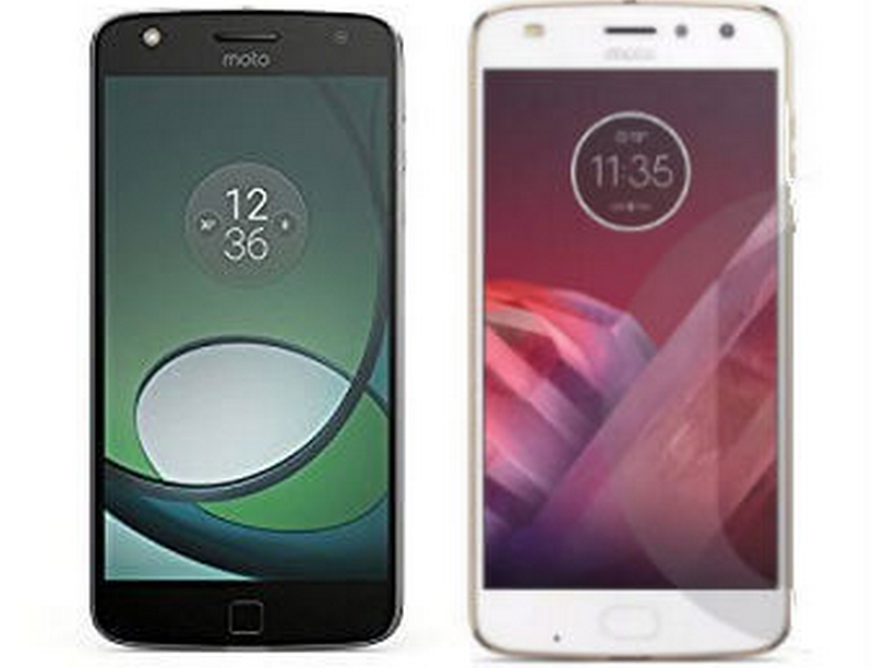 Comparison of Moto Z Play with Moto Z2 Play