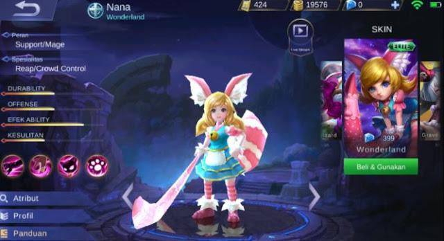 Siapakah Identitas Nana Mobile Legends