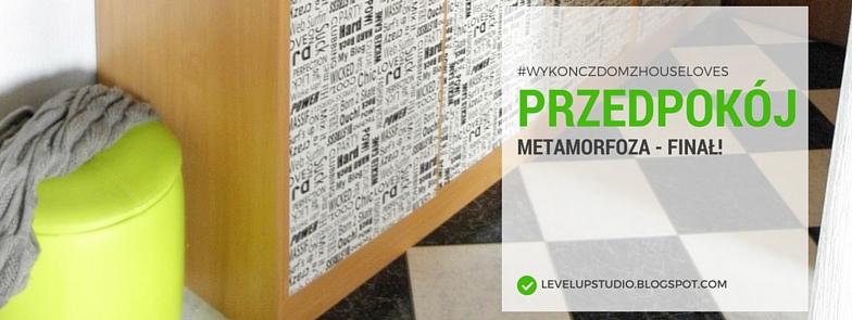 metamorfoza przedpokoju, limonka we wnętrzu, wyzwanie Houseloves | lvlupstudio.pl