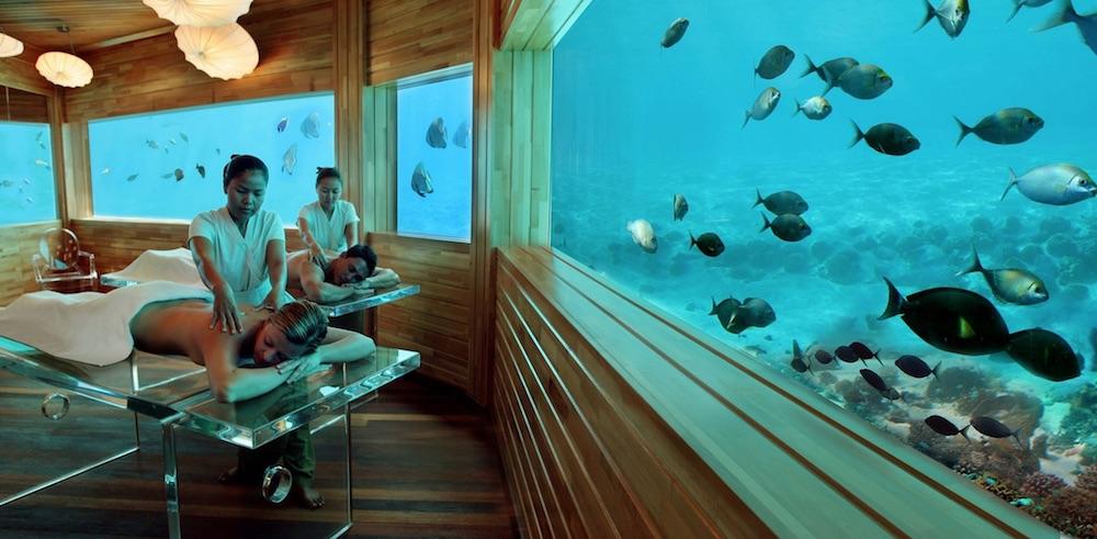 Lime Spa at Huvafen Fushi, Malediwy, podwodny hotel