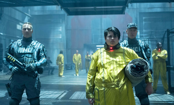 Julian Dennison plays the young mutant Russell in DEADPOOL 2 (2018)