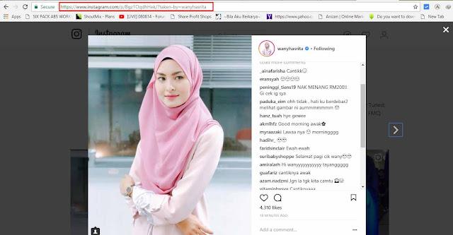 Cara Mudah Download Gambar Instagram