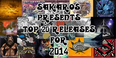 Top 20 Releases For 2014 by Sakaros