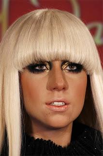 Escultura de cera de Lady Gaga