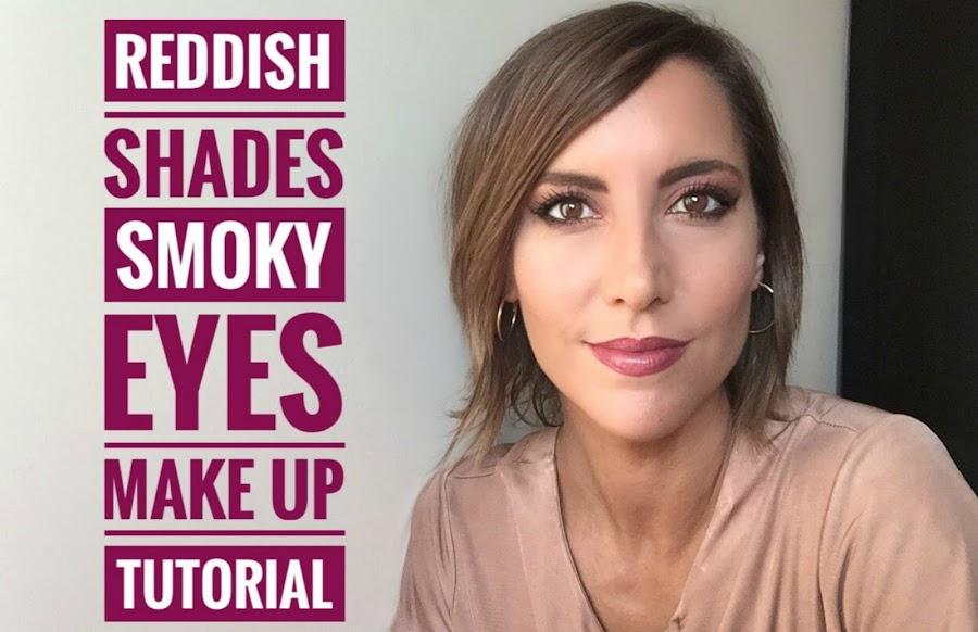 Fitness And Chicness-Video Maquillaje Ojos Ahumados Tonos Rojizos-1