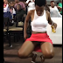 VIDEO: Lady Dancing And Exposing Her 'KONDO' After Drinking Some Bottles Of Alcohol (WATCH AND DOWNLOAD)